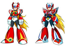 Zero Rockman Online Armor
