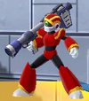 Rockman X DiVE Mad Joey Red