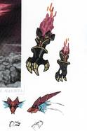 Concept art of Crimson Dragon