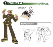 Count Zap concept art