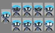 Mega Man Fully Charged Mega Mini Expressions