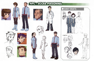 NPC - Scilab Personnel concept art