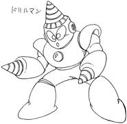 MM2 Drill Man