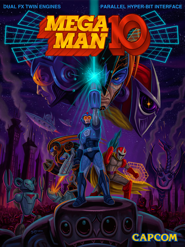 Mega man 10 mmkb fandom powered by wikia for Megaman 9 portada