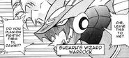 WarRock in Shooting Star Rockman 3 (manga)