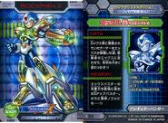 Rockman X Mega Mission 4 Card EX01