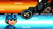 MMFC Mega Man VS Lord Obsidian