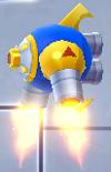 Rockman X DiVE-Fly Gunner Blue