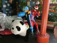 Hanayashiki Panda Car