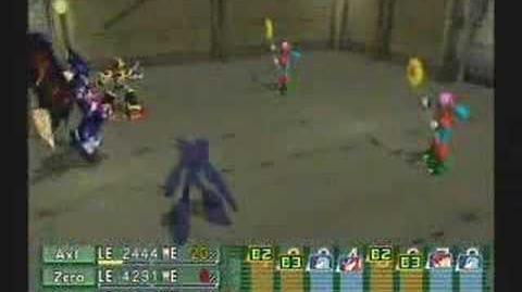 Megaman X Command Mission Rafflesian
