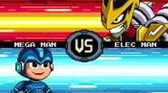 MMFC Mega Man VS Elec Man