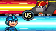 MMFC Mega Man VS Guts Man