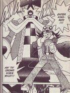 Tora and KingMan.EXE in NT Warrior manga
