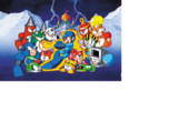 Mega Man 4 Damage Data Chart
