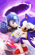 Sonic The Hedgehog -274 (variant) art