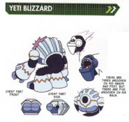 Concept art of Yeti Blizzard