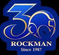Rockman-30th logo
