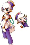 MMZ2 Cyber-elf Nurse (Lavender)