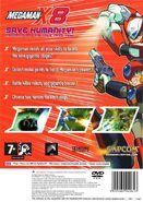 Mega Man X8 (PS2) (EU) back