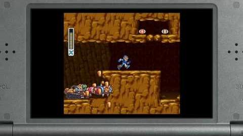 Mega Man X New 3DS Virtual Console trailer