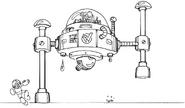MM3 Wily Machine 3 concept 1