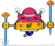 MM3 Wily Machine 3 (Form 1)