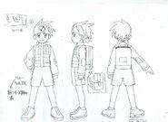 Lan Hikari - Sketch 2