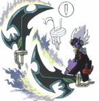 Concept art of Laplace's sword form