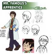 Mr. Famous's Apprentice concept art