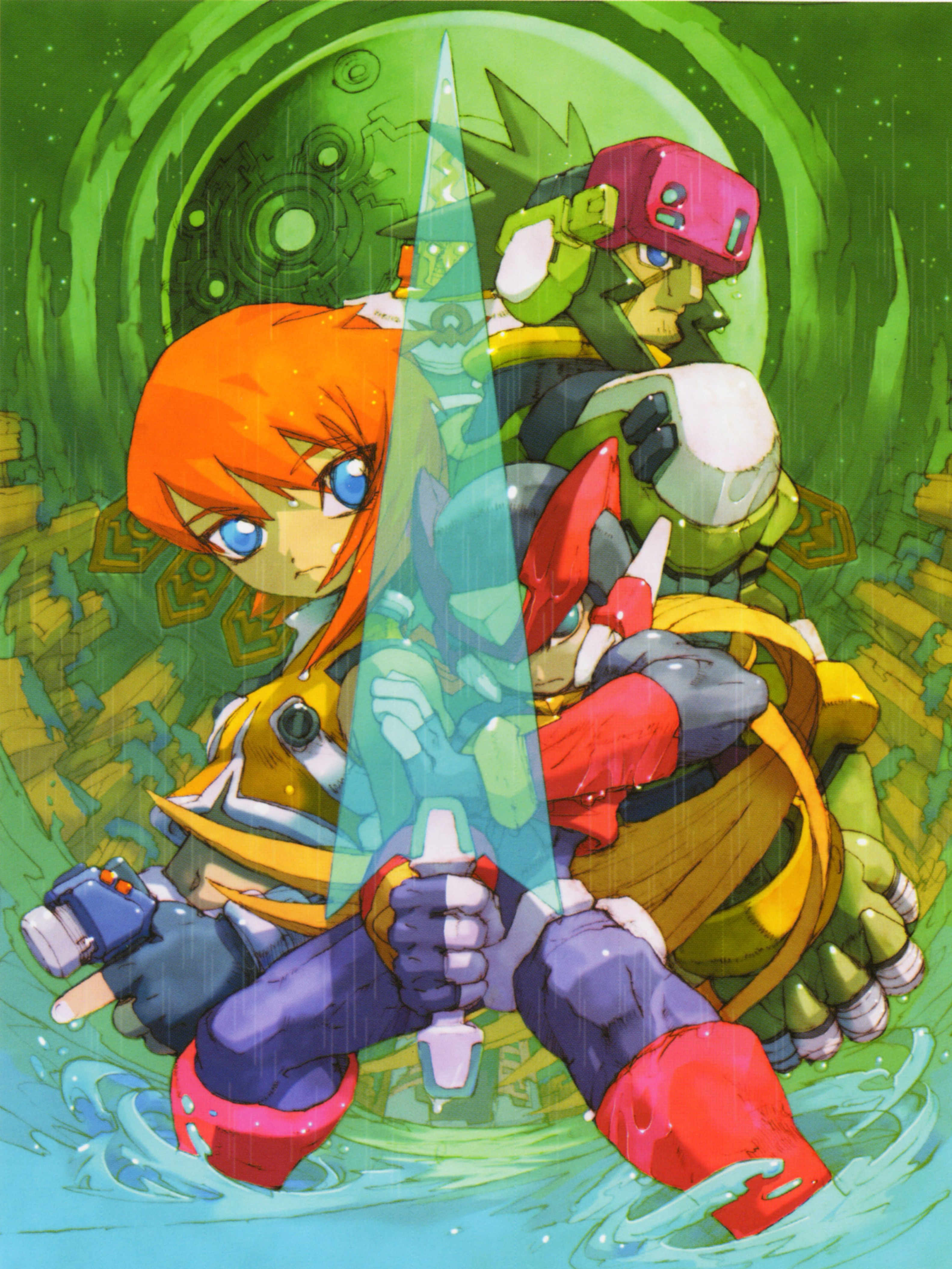 Mega man zero 4 mmkb fandom powered by wikia gameplay voltagebd Images