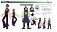 Mr. Hat concept art