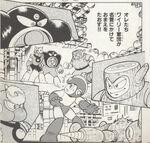 Wily Robots Rockman World II Manga