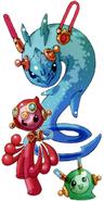 MMZ2 Cyber-elf Animal (Putick)