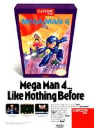 Mega Man 4 Advertisement