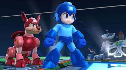Super Smash Bros. Ultimate Nintendo Switch MEGA MAN Gameplay