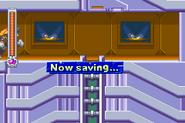 Mega Man & Bass - Now saving