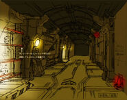 064 - POW Camp Corridors