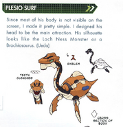 Concept art of Plesio Surf