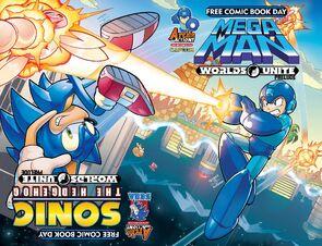 FCBD 2015 Sonic Mega Man Covers