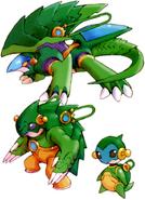 MMZ Cyber-elf Animal (Mannen)