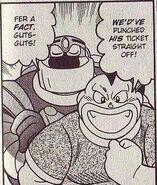 Dex in NT Warrior manga