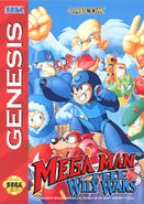 Mega Man The Wily Wars Genesis Mini Cover