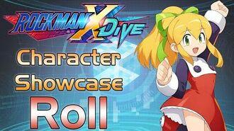 Mega Man X DiVE - Roll Showcase Gameplay, Skills, Art, & 3D Model