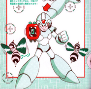 MMX3 Parasitic Bomb (charged)