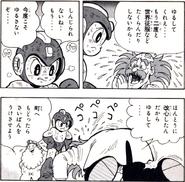 Rockman 5 (manga) Wily excuse