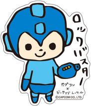 CAPCOM × B-SIDE LABEL Sticker Rockman Tegaki