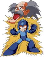 MM5 Mega Man and Wily