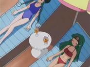 Miyu and Sal swimsuits