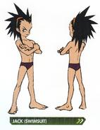 Concept art of Jack (Swimsuit)