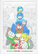 Mega Man 11 Production Note